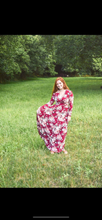 Load image into Gallery viewer, Burgundy Floral Maxi