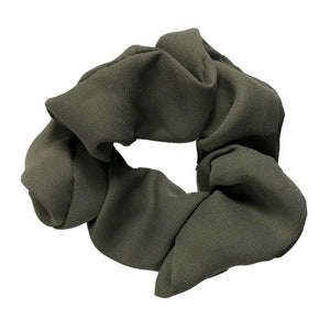 Olive Solid Scrunchie