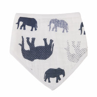 Load image into Gallery viewer, Wild Elephant Bandana Bibs