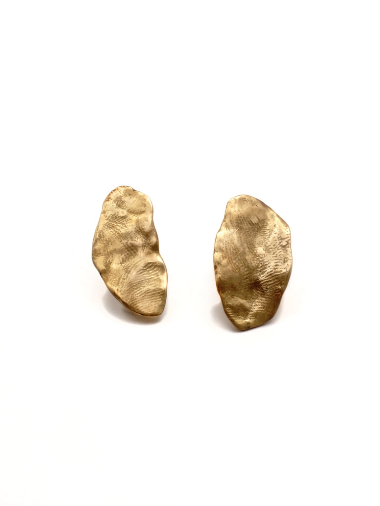 Trace Earrings Oval