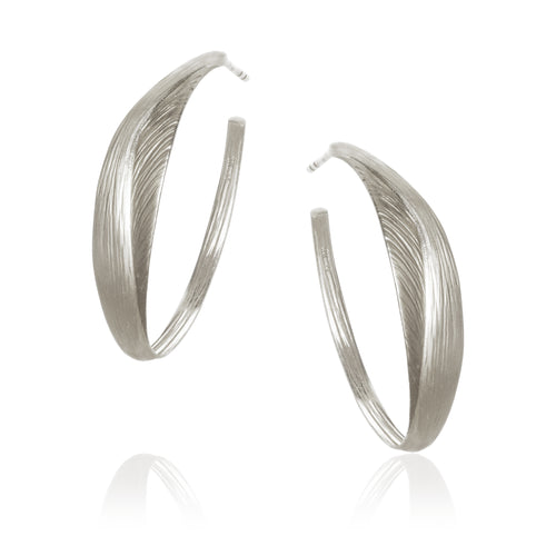 Aura Hoop earrings.
