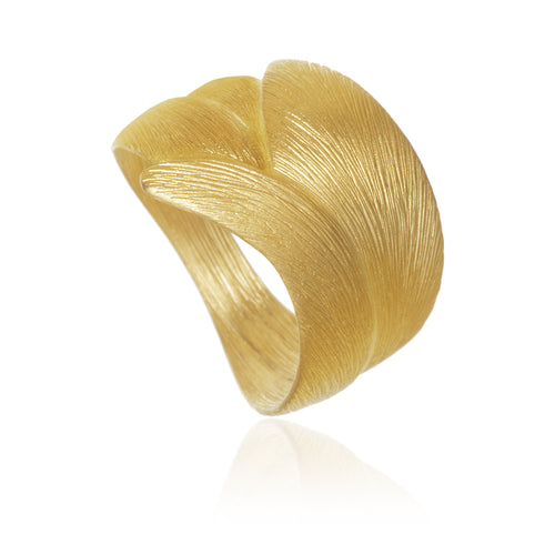 Aura Ring in Gold.