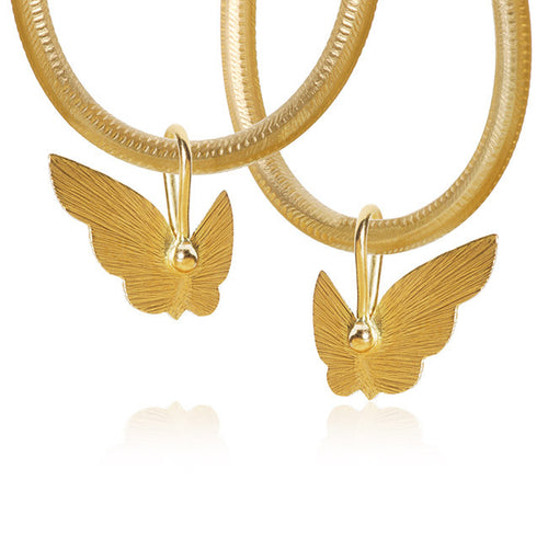 Butterfly-Anhänger. Gold 18 K. Dulong Fine Jewelry