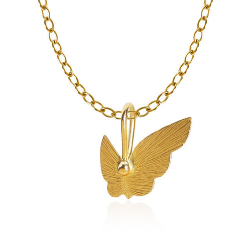 Butterfly-Anhänger. Gold 18 K. Dulong Fine Jewelry.