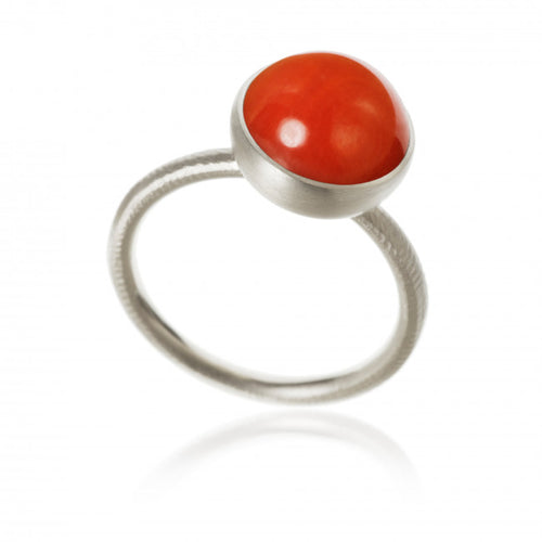 Pacific ring. Large top with coral.