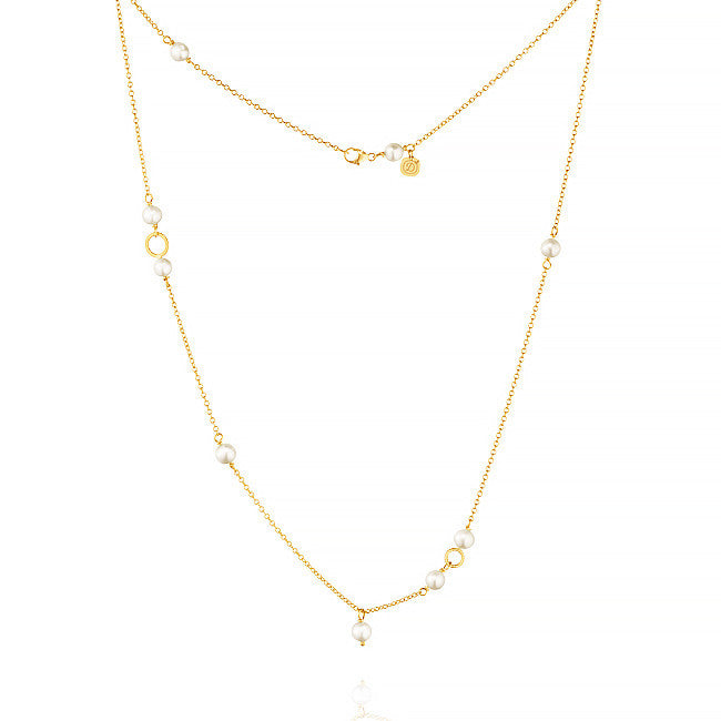 Piccolo Marina necklace with freshwater pearls