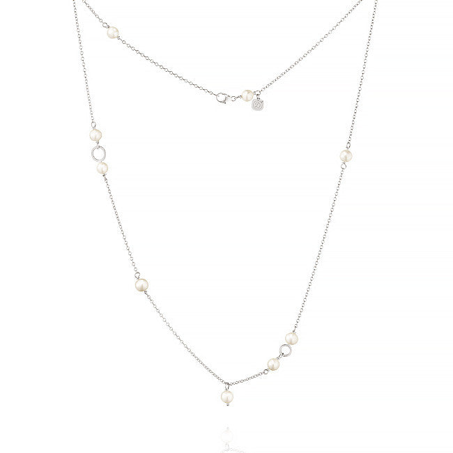 Piccolo Marina necklace with freshwater pearls, 47 cm.