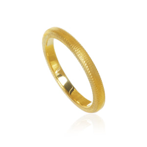 Curve ring. 2,5 mm. ringskinne.