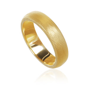 Curve ring. 5,5 mm. ringskinne. Guld 18K. Dulong Fine Jewelry