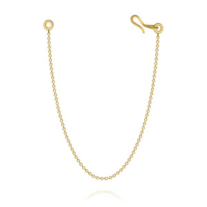 Stream extension chain in gold 18 K
