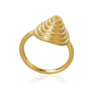 Thera twist ring, Guld 18K, Dulong Fine Jewelry