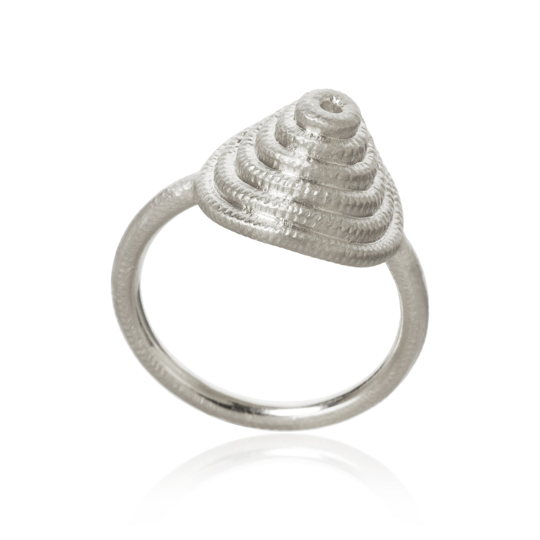 Thera Twist ring, sølv, Dulong Fine Jewelry