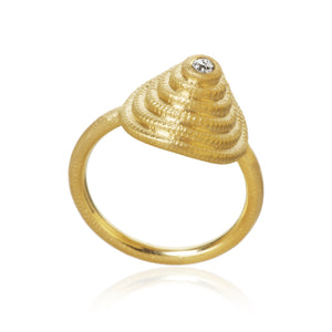 Thera Twist Ring mit 1 Brillanten