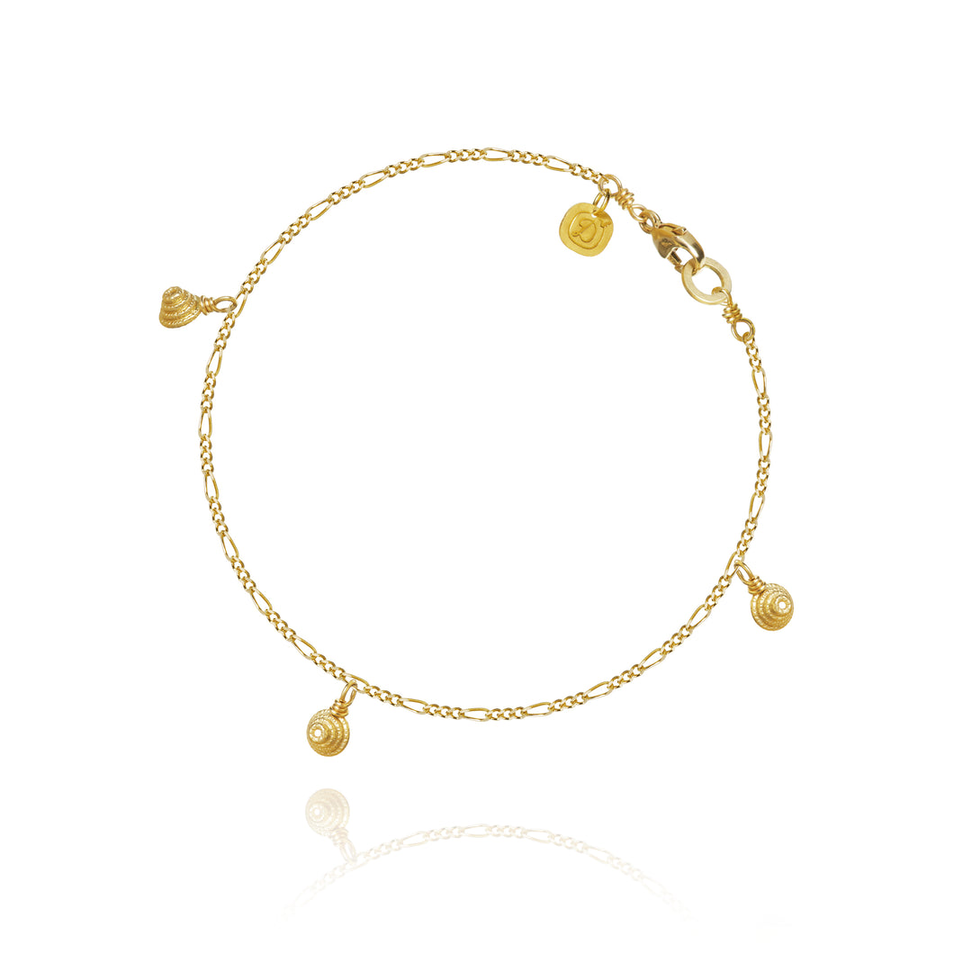 Thera Twist Piccolo bracelet, 18 K gold, Dulong Fine Jewelry