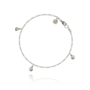 Thera Twist Piccolo bracelet, Silver, Dulong Fine Jewelry