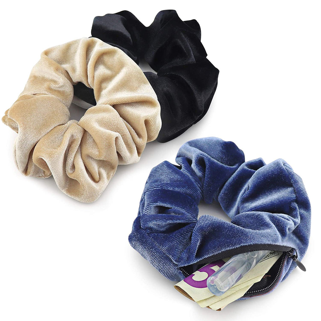 Limited Edition Hidden Pocket Scrunchies