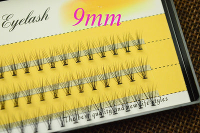 Natural-Look Volume Pre Made Fans (60 Pcs)