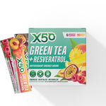 6 Assorted Flavours Green Tea X50