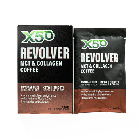 Mocha Revolver MCT & Collagen Coffee
