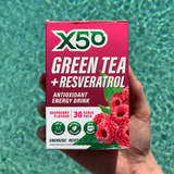 Raspberry Green Tea X50