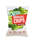 X50 Broccoli Chips - Spicy