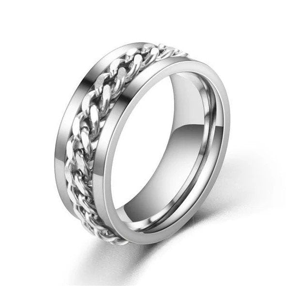 Rotatable Stainless Steel Chain Ring