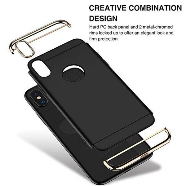 3-in-1 Shockproof Ultra Slim Phone Case For iPhone