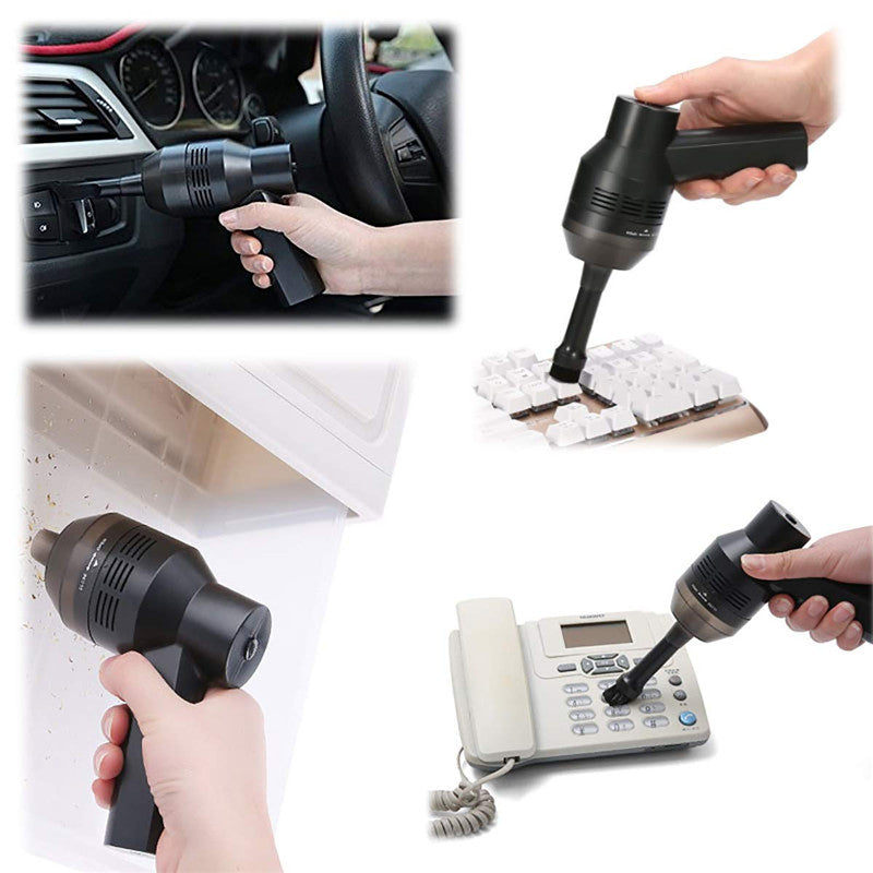 Mini Rechargeable Keyboard Dust Car Vacuum Cleaner