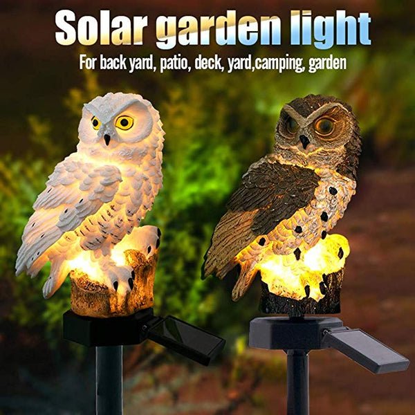 Owl Shapes Solar-powered Lights