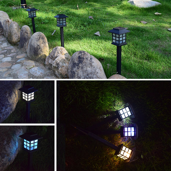 Solar Pathway Outdoor Garden Landscape Lighting