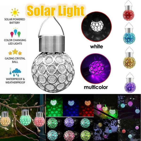 Creative Solar Hanging Ball Light