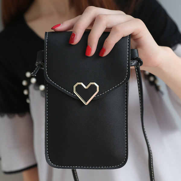 Vintage Buckle PU Casual Mini Crossbody Bags