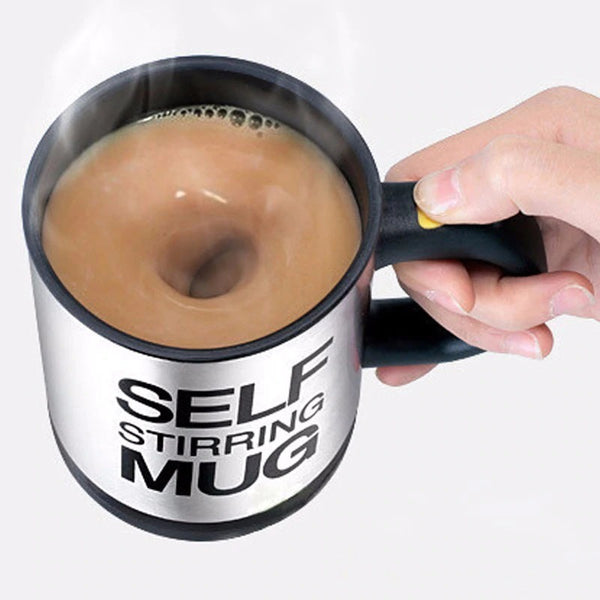 Automatic Stirring Coffee Cup