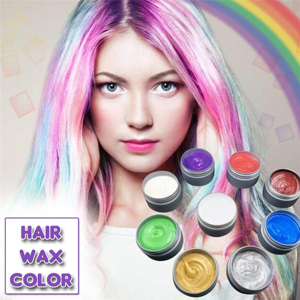 Temporary Hair Paint Color Wax DIY Hairstyle