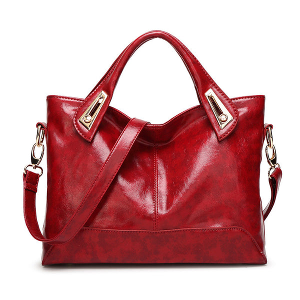 Women's Casual Leather Shoulder Bags