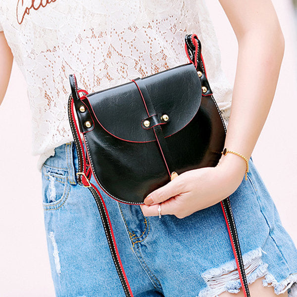 Women Pure Color Crossbody Bags