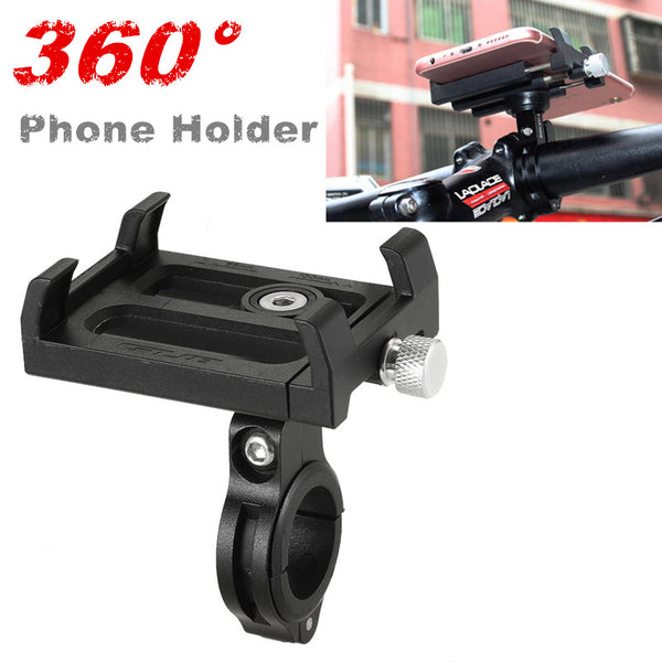 360-Degree Rotating Motorcycle Phone Holder