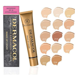 Powerful Hollywood Waterproof Concealer And Foundation 14 Colors Long-Lasting