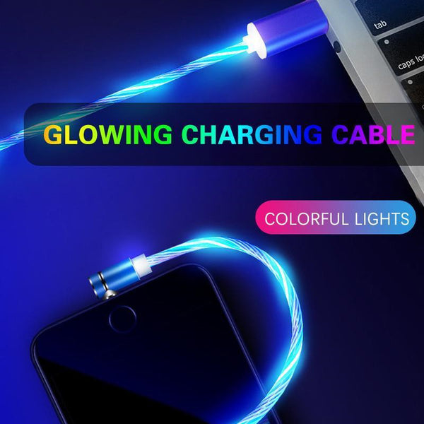 3-in-1 Flow Light Charging Cable