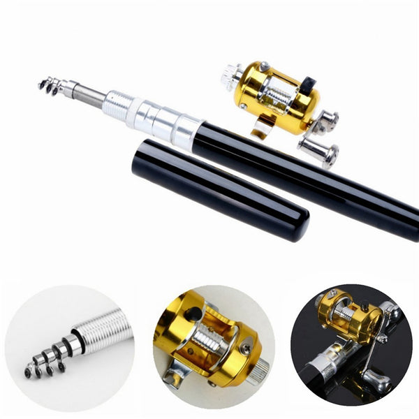 Portable Telescopic Pen Shape Fishing Pole