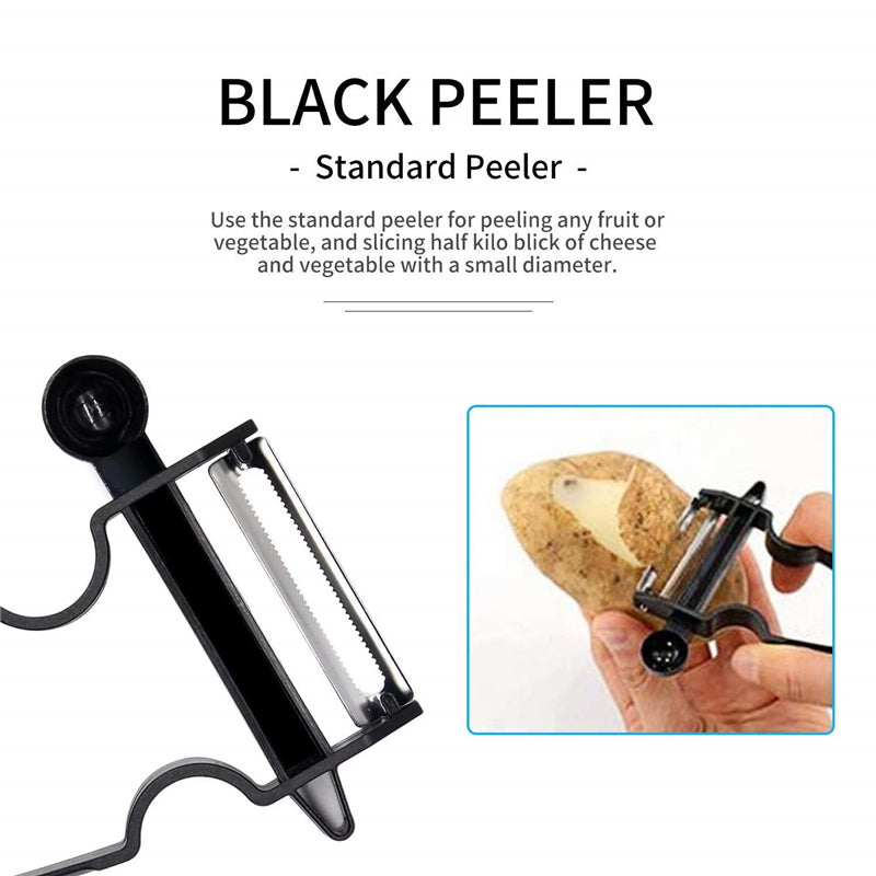 Magic Trio Vegetable Peelers Set