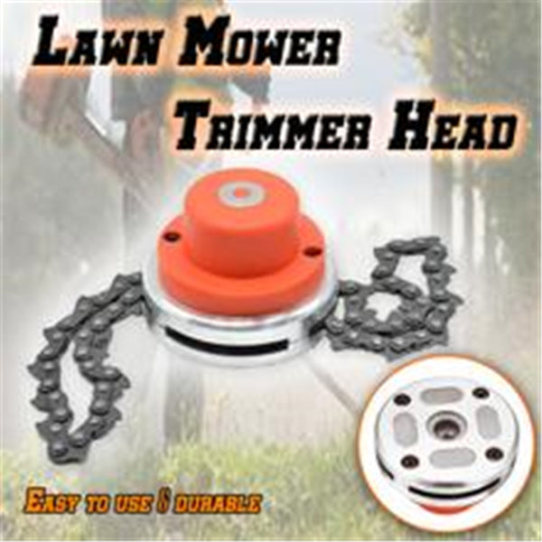 Lawn Mower Chain Trimmer Head