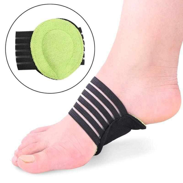 1 Pair Foot Support Cushioned Compression Arch Helps Decrease Plantar Fasciitis Pain