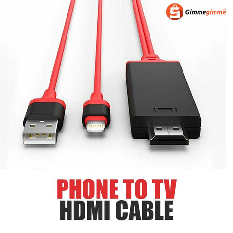 Iphone/Android to HDMI Cable