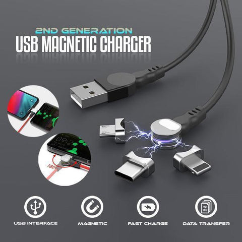 2nd Generation USB Magnetic Charger