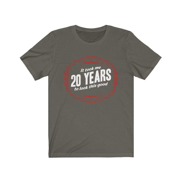 20th Birthday T-Shirt Army / S  - VPI Shop