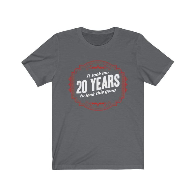20th Birthday T-Shirt Asphalt / S  - VPI Shop