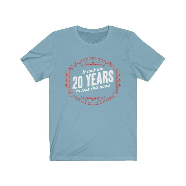 20th Birthday T-Shirt Baby Blue / S  - VPI Shop