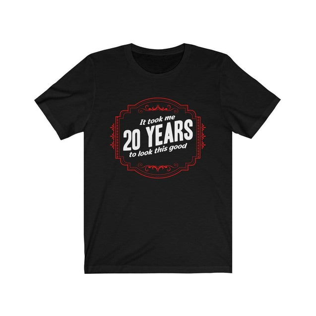 20th Birthday T-Shirt Black / L  - VPI Shop
