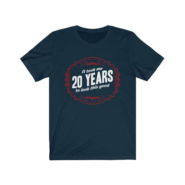 20th Birthday T-Shirt Navy / S  - VPI Shop